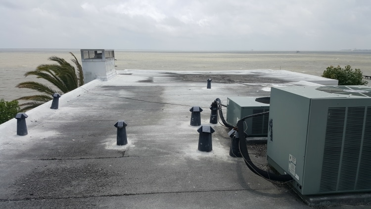 commercial flat roof repair in TX