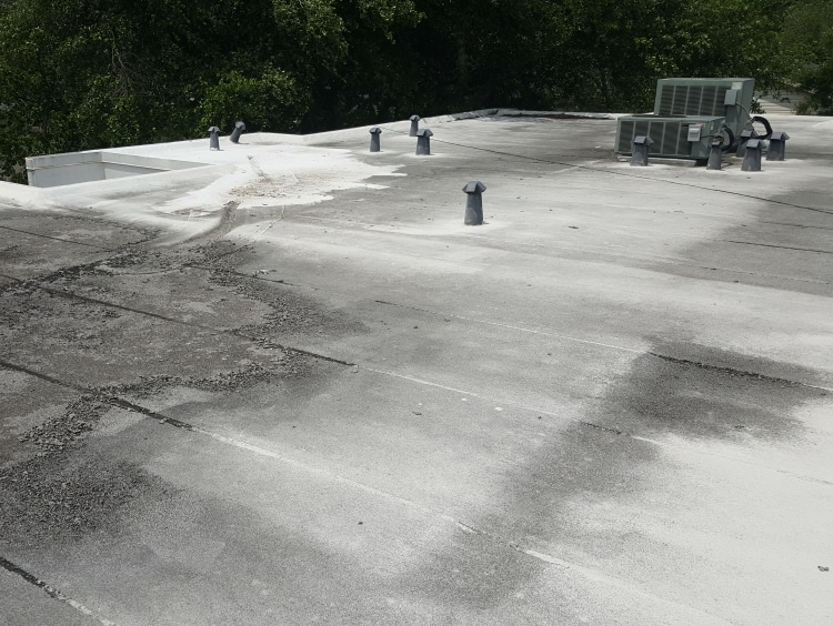 flat roof repair in Houston TX