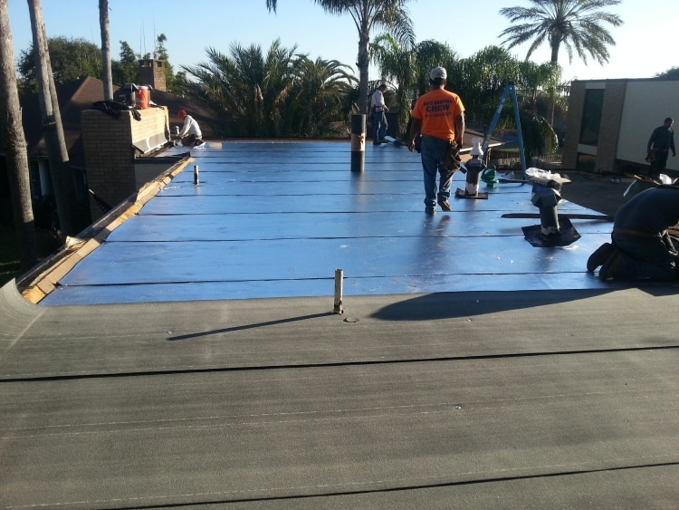 commercial flat roof contractors in TX
