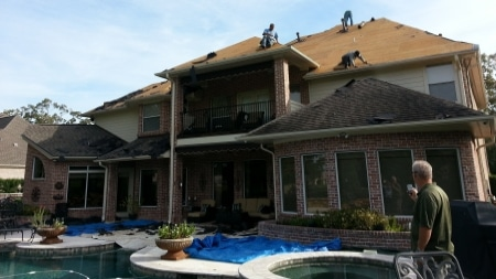 residential roofing League City TX