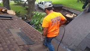 roof inspection in Friendswood TX