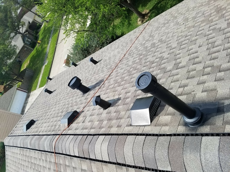 roof life extension completed in TX
