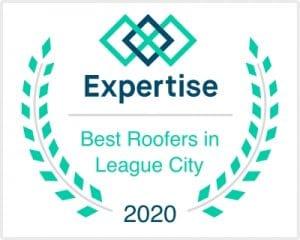 best roofer in league city tx award
